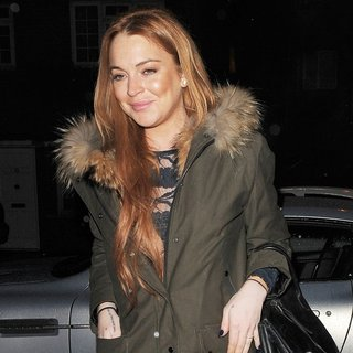 Lindsay Lohan in Lindsay Lohan Leaves The Private Residence