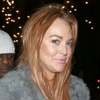 Lindsay Lohan in Lindsay Lohan on A Night Out at C London Restaurant