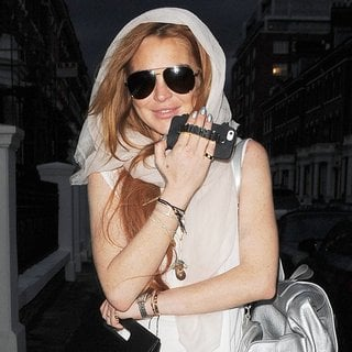 Lindsay Lohan - Lindsay Lohan Out and About in London