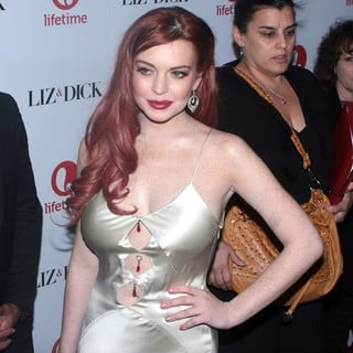 Lindsay Lohan - The Premiere of Liz and Dick