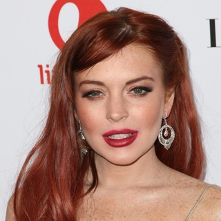 Lindsay Lohan in The Premiere of Liz and Dick