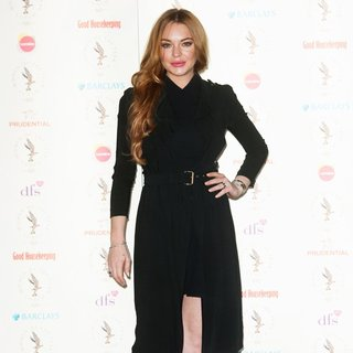Lindsay Lohan - Women of The Year Lunch and Awards - Arrivals