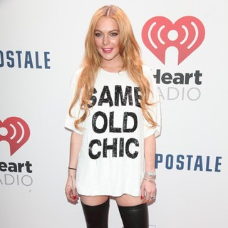 Lindsay Lohan in Offical Media Confirmation Z100's Jingle Ball 2013