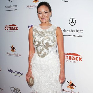Lindsay Price in HollyRod Foundation 12th Annual Design Care