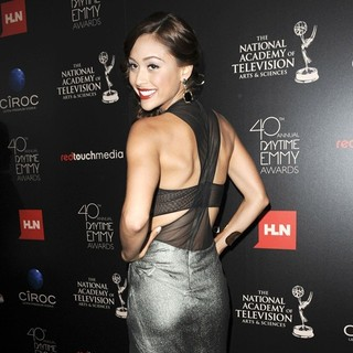 Lindsey Morgan in The 40th Annual Daytime Emmy Awards - Arrivals