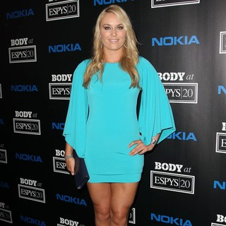 Lindsey Vonn in ESPN Body Issue Celebration Party
