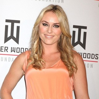Lindsey Vonn in Tiger Jam Benefiting Tiger Woods Foundation