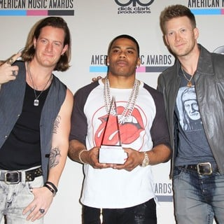 Florida Georgia Line, Nelly in 2013 American Music Awards - Press Room