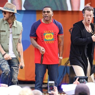 Florida Georgia Line and Nelly Perform on ABC's Good Morning America 2017 Summer Concert Series