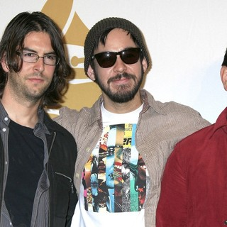 Rob Bourdon, Mike Shinoda, Joe Hahn, Linkin Park in The 52nd GRAMMY Nominations Concert Live! - Press Room
