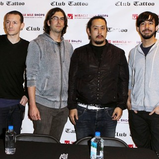 Club Tattoo Inside Miracle Mile Shops Hosts An Autograph Signing with Linkin Park