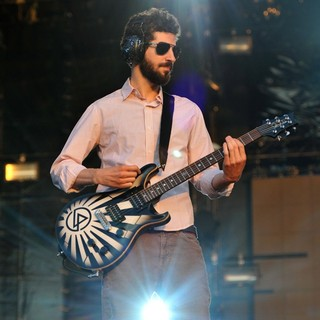 Brad Delson, Linkin Park in Linkin Park Performing at Maxidrom Music Festival