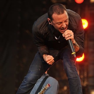 Chester Bennington, Linkin Park in Linkin Park Performing at Maxidrom Music Festival
