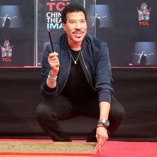 Lionel Richie Hand and Footprint Ceremony