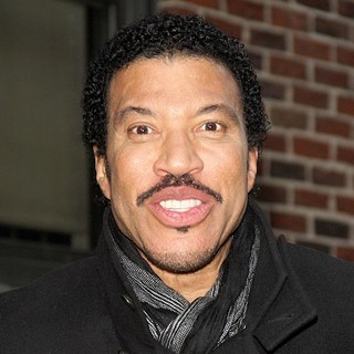 Lionel Richie in Celebrities Arrive at The Ed Sullivan Theater for The Late Show with David Letterman