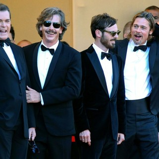 Ray Liotta, Ben Mendelsohn, Scoot McNairy, Brad Pitt in Killing Them Softly Premiere - During The 65th Cannes Film Festival