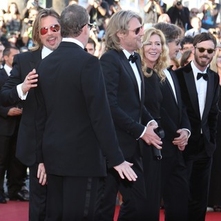 Brad Pitt, Ray Liotta, Dede Gardner, Scoot McNairy, Ben Mendelsohn in Killing Them Softly Premiere - During The 65th Cannes Film Festival