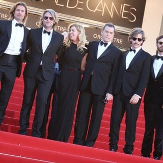 Brad Pitt, Andrew Dominik, Dede Gardner, Ray Liotta, Ben Mendelsohn, Scoot McNairy in Killing Them Softly Premiere - During The 65th Cannes Film Festival