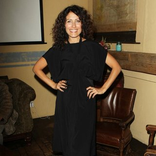 Lisa Edelstein in Social Media Week Los Angeles Kicks Off Party