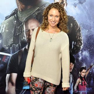Lisa Gormley in G.I. Joe: Retaliation - Sydney Premiere