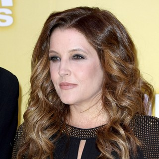 Lisa Marie Presley in 46th Annual CMA Awards