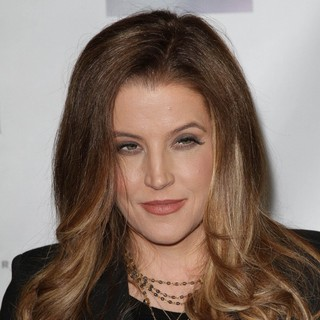 Lisa Marie Presley in NARM Music Biz Awards Dinner Party
