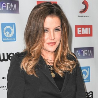 Lisa Marie Presley - NARM Music Biz Awards Dinner Party