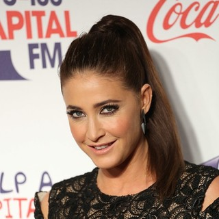 Lisa Snowdon in The Capital FM Jingle Bell Ball 2013 - Day 2 - Arrivals