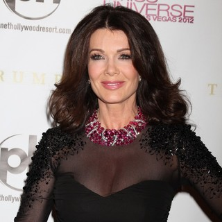 Lisa Vanderpump in 2012 Miss Universe Pageant - Arrivals