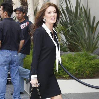 Lisa Vanderpump in David Foster Honored with Star on The Hollywood Walk of Fame