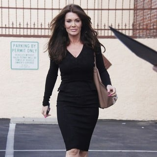 Lisa Vanderpump in Celebrities Outside The Rehearsal Studio for Dancing with the Stars
