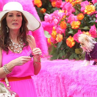Lisa Vanderpump in The SUR Lounge Float - During The LA Pride Parade