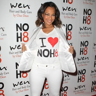 LisaRaye McCoy in NOH8 Celebrity Studded 4th Anniversary Party - Arrivals