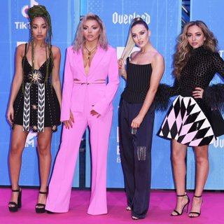 Little Mix in 25th MTV Europe Music Awards - Arrivals