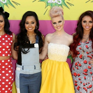 Little Mix in Nickelodeon's 26th Annual Kids' Choice Awards - Arrivals