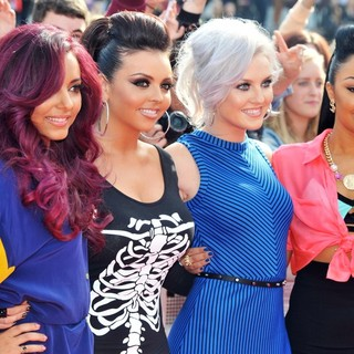 Little Mix in BBC Radio 1's Teen Awards 2012 - Arrivals