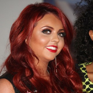 Jesy Nelson, Little Mix in The BRIT Awards 2012 - Arrivals