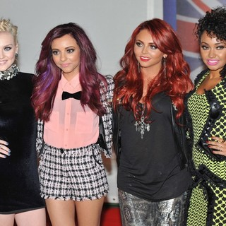 Little Mix in The BRIT Awards 2012 - Arrivals