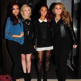 Little Mix in The Glamour Magazine Dinner for X Factor Winners