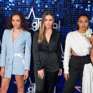 Little Mix in Global Awards 2018 - Arrivals