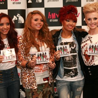 Little Mix in Little Mix Meet Fans and Sign Copies of Their Debut Single Cannonball