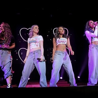Little Mix in Little Mix Performing Live on Stage