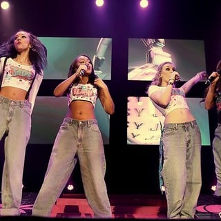 Little Mix Performing Live on Stage