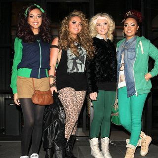 Little Mix in Little Mix on The Way to Heaven Night Club