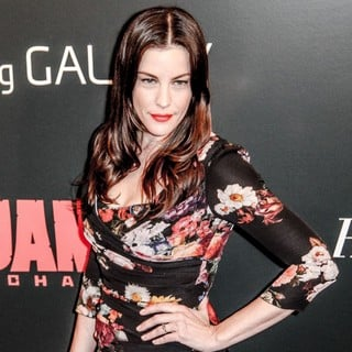 Liv Tyler in The Premiere of Django Unchained