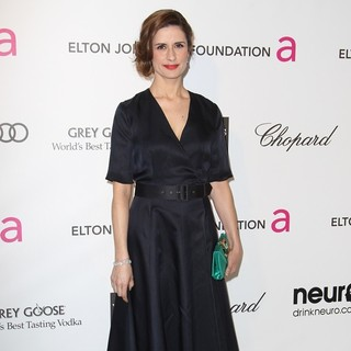 Livia Firth in 21st Annual Elton John AIDS Foundation's Oscar Viewing Party
