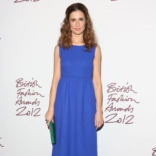 Livia Firth in The British Fashion Awards 2012 - Arrivals