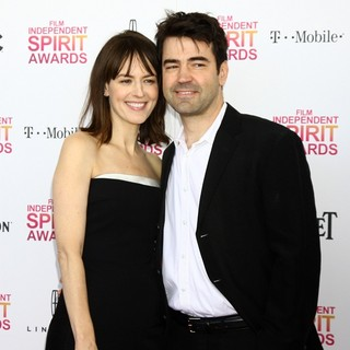 Rosemarie DeWitt, Ron Livingston in 2013 Film Independent Spirit Awards - Arrivals