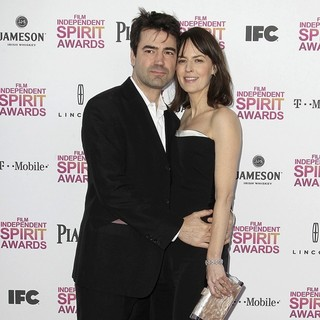 Ron Livingston, Rosemarie DeWitt in 2013 Film Independent Spirit Awards - Arrivals