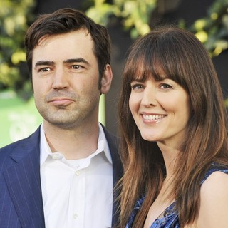 Ron Livingston, Rosemarie DeWitt in The World Premiere of The Odd Life of Timothy Green - Arrivals